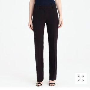 Black JCrew work trousers nwt